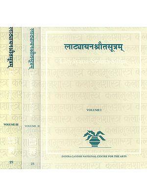 Latyayana-Srauta-Sutra in Three Volumes
