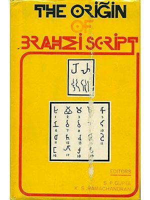 The Origin of Brahmi Script (An Old & Rare Book)