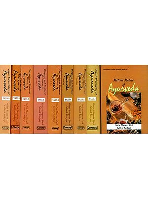 Ayurveda Saukhyam of Todarananda (Set of 9 Volumes)