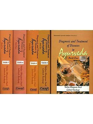 Diagnosis and Treatment of Diseases in Ayurveda (Set of 5 Volumes)