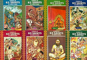 Stories of 63 Saints of South India (Set of 8 Volumes)
