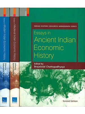 Essays on History of Indian Economics (Set of Three Volumes)