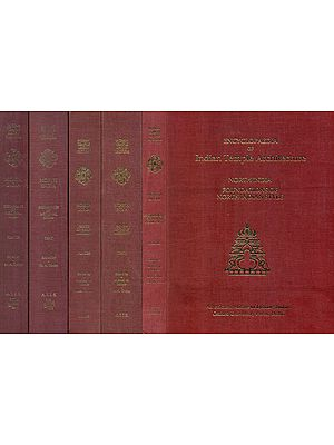 Encyclopaedia of Indian Temple Architecture - North India Foundations of North Indian Style, Period of Early Maturity and Beginning of Medieval Idiom (Set of 6 Books) - An Old and Rare Books
