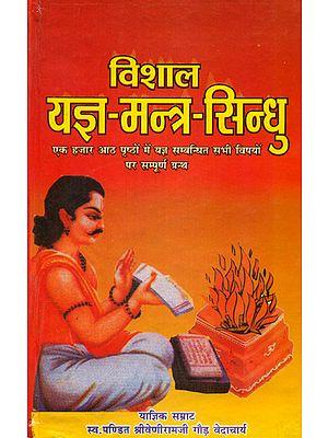विशाल यज्ञ मन्त्र सिंधु: Yajna Mantra Sindhu with Hindi Commentary