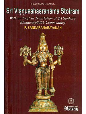 Sri Visnusahasranama Stotram with Commentary of Sankaracarya