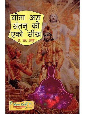 गीता अरु संतन् की एको सीख - Gita Aru Santan Ki Eko Seekh