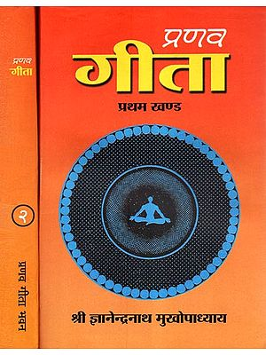 प्रणव गीता - Pranav Gita: Set of Two Volumes (An Old and Rare Book)