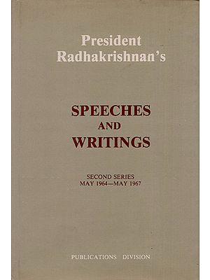 President Radhakrishnan's Speeches and Writings (An Old and Rare Book)