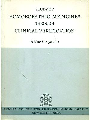 Study of Homoeopathic Medicines Through Clinical Verification