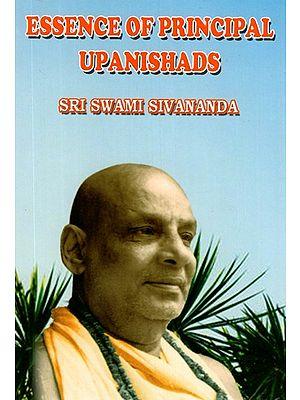 Essence of Principal Upnishads