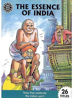The Essence of India – Tales That Celebrate the Indian Spirit(Set of 26 Comic Books)