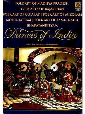 Folk Art of Madhya Pradesh Folk Arts of Rajasthan Folk Art of Gujarat Folk Art of Mizoram Mohiniattam  Folk Art of Tamil Nadu Bharatanrityam Dance of India (DVD Video)