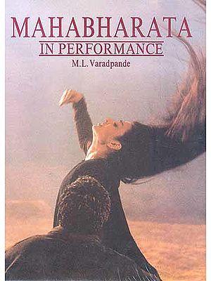 Mahabharata in Performance (A Rare Book)
