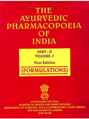 The Ayurvedic Pharmacopoeia of India (Part-II, Volume-I) Formulations