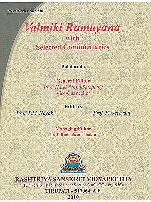 Valmiki Ramayana: Balakanda (With Sanskrit Text, Roman Transliteration, Word-to-Word Meaning and English Translation)