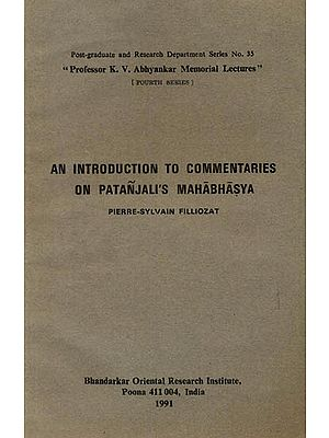 An Introduction to Commentaries on Patanjali's Mahabhasya