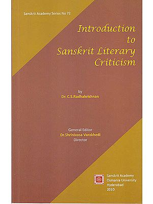 Introduction to Sanskrit Literary Criticism