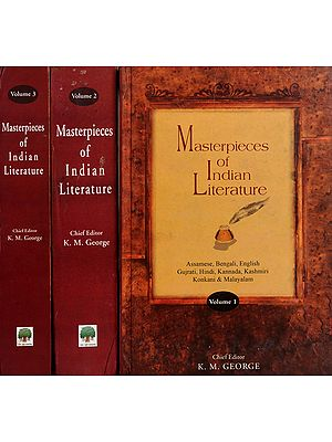 Masterpieces Of Indian Literature (Set of 3 Volumes)