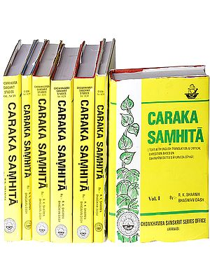 Caraka Samhita (Critical Exposition Based On Cakrapani Datt's Ayurveda Dipika) (Set of 7 Volumes)
