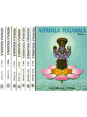 Astadala Yogamala: The Collected Works of B.K.S. Iyengar (Set of 8 Volumes)