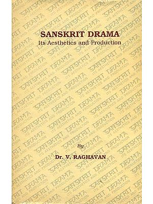 Sanskrit Drama (Its Aesthetics and Production) (A Rare Book)