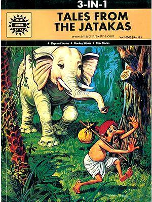 Tales From The Jatakas (Elephant Stories, Monkey Stories, Deer Stories) (Comic Book)