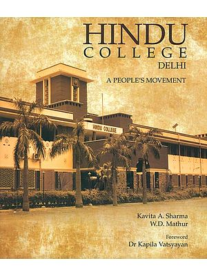 Delhi: Hindu College (A People's Movement )