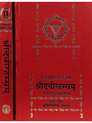 Shri Devi Rahasyam from the Rudrayamal Tantra (Set of 2 Volumes)