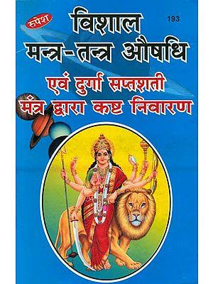विशाल मन्त्र तन्त्र औषधि एवं दुर्गा सप्तशती मन्त्र द्वारा कष्ट निवारण (संस्कृत एवं हिन्दी अनुवाद) - Healing Through Mantras of Durga Saptashati
