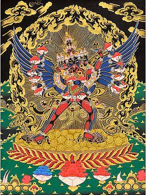 Chemchok Heruka with Consort (Tibetan Buddhist)