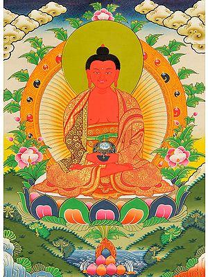 Tibetan Buddhist Deity Amitabha - The Buddha of Infinite Light