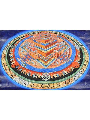 Three Dimensional Representation of Tibetan Buddhist Kalachakra Mandala