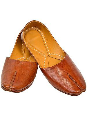 обувь из натуральной кожи из индии