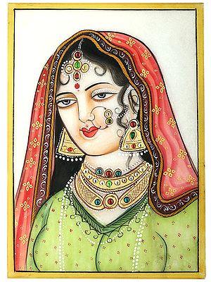 The Beautiful Rajasthani Damsel