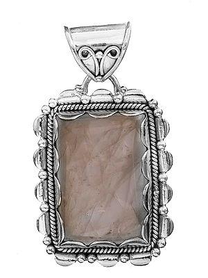 Rectangular Gemstone Pendant