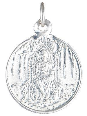 Goddess Lashmi and Shreeyantra - Double Sided Pendant