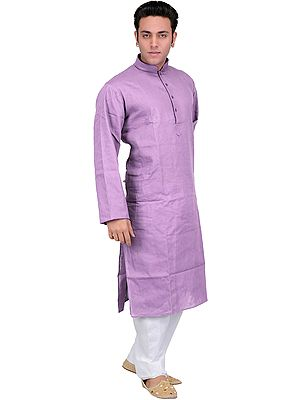 Solid Plain Kurta Pajama Set