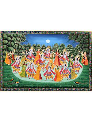 Rasa Lila of Shri Krishna (Inferior Quality)