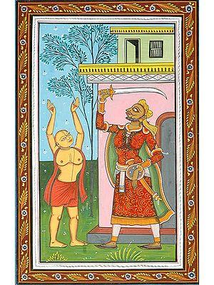 An Incident from the Life Shri Chaitanya Mahaprabhu