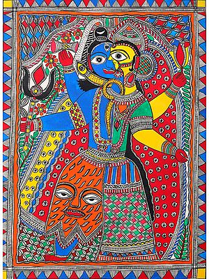 Ardhanrishvara In Eclectic Colours