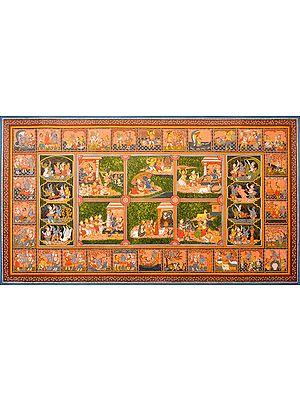 Lord Krishna Paata -Scenes from His Life