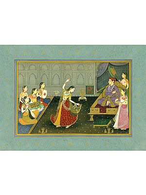 A Mujra to Entertain the King