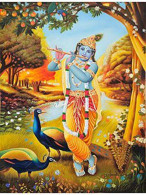 Krishna-The Most Beautiful Musician