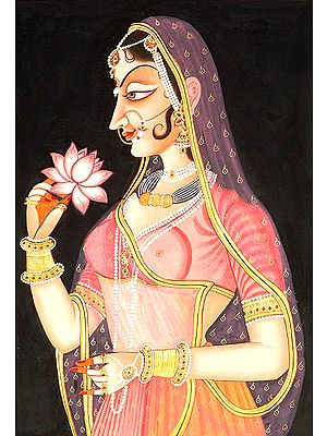 Lady with a Lotus
