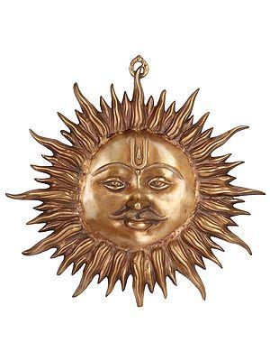 Wall-Hanging: Auspicious Motif of Sun