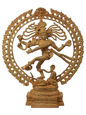 Nataraja - The King of Dancers (Antiquated Sculpture)
