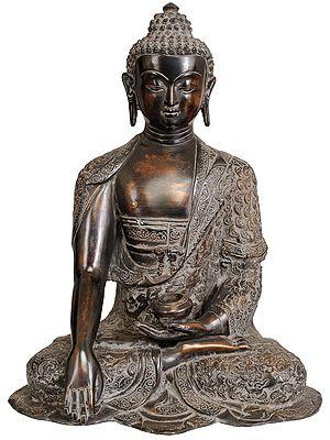 Lord Buddha in Bhumisparsha Mudra (Tibetan Buddhist)