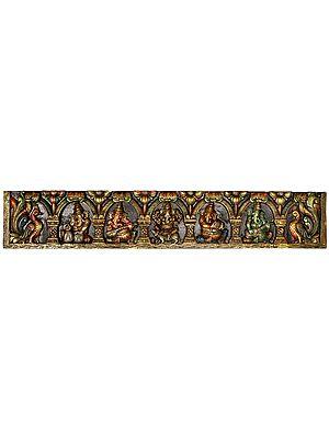 Musical Ganesha Large Size Panel