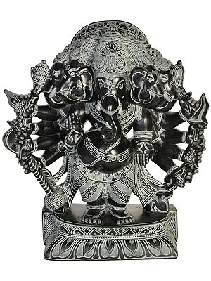Five Headed Blessing Ganesha