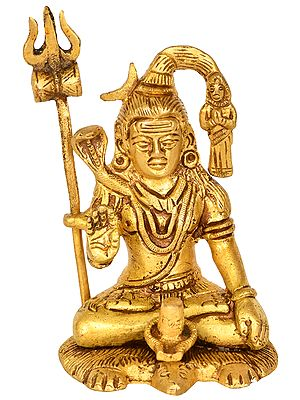 Gangadhar Shiva with Shiva Linga